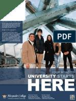 캐나다 밴쿠버 Alexander College Poster