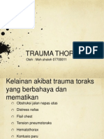 Bedah Trauma Thorax