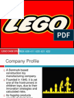 Management of Innovation Lego Study