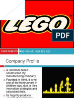 Management of Innovation Lego Study