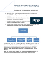 Restructuring of Daimler - Anoushka