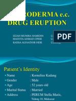 Mini Poster - Erythroderma e.c Drug Eruption