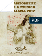 172424063 Canzoniere Della Musica Italiana 2012