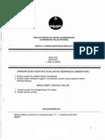 Penang Trial SPM 2013 Biology