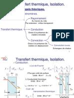 Transfert Thermique Isolation v2
