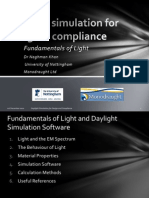 Fundamentals of Light and Daylight Simulation Software