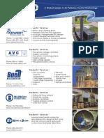 CECO Environmental Company Line Card Jan 2013