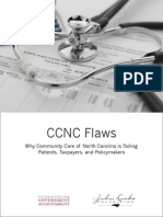 Policy Report CCNC Flaws