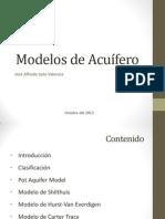 Modelos de acuífero