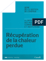 SGE Recuperation Chaleur Perdu