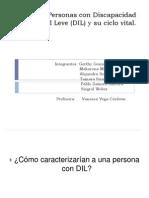 Personas Con Discapacidad Intelectual Leve (DIL)