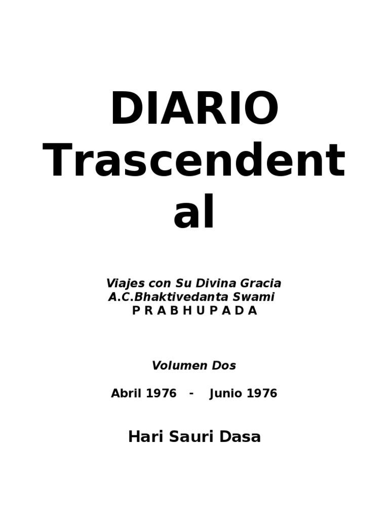 Diario Trascendental Vol 2