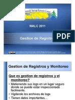 Gestion de Registros