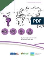 El proceso de concentración de la tierra en el Perú