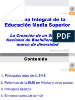 RIEMS Creacion Sistema Nacional de to