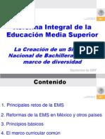 RIEMS Creacion Sistema Nacional de to