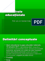 Obiective Educationale