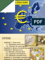 Moneda şi zona euro