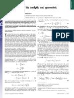 Monotonicity and Its Analytic and Geometric Interpretations