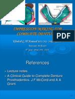 Prostho IV - Slide 3 - Impression_Making_for_Complete_Dentures