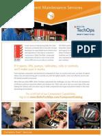 Aircraft Component Maintenance Services