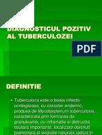 Diagnosticul Pozitiv Al Tuberculozei