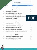 Organic Chemistry Alcohols Plancess IIT pdf