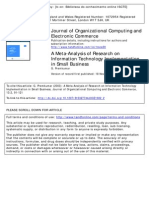 A Meta-Analysis of Research on Information Technology Implementation in Small Businesss15327744joce1302_2