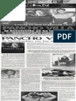 Lanzan en dvd la película Pancho Villa, la revolución no ha terminado
