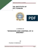 engine emission control