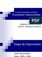Vasconcelismo 1920 a 1924