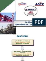 03-1 Aduanas I - Sesion 3y4 Operadores de ComEx