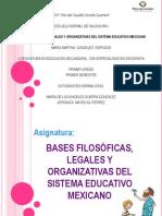 Bases Filosc3b3ficas Legales y Organizativas Del Sistema Educativo Mexicano