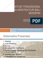 Arsitektur Tradisional Bali vs Arsitektur Bali Modern
