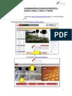 Guía para generar Fichas de Proyecto del Concurso Innóvate Perú FIDECOM
