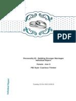 Partner 1 Report