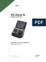 Installation k 2 Dyno