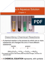 Reactions in Aqueous Solution Student Version