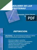 Metabolismo de Las Proteinas(1)