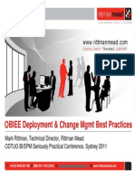 OBIEE11g Deployment & Change Management Best Practices