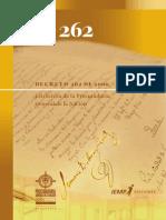 Decreto 262 2000 estructura procuraduria
