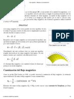 Flujo magnético - Wikipedia, la enciclopedia libre