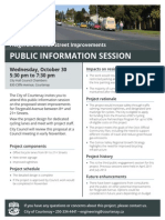 2013-10-17 City of Courtenay - Neighbourhood Flyer Fitzgerald Public Info Session