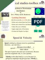 Analytical science - Newtons mechanics