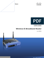 Wireless-g Broadband Router User Guide