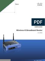 Wireless-g Broadband Router User Guide