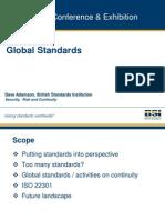 Global Standards - David Adamson