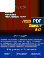 The Process of Motivation