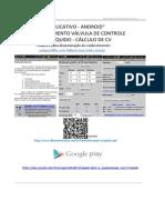 ANDROID - Dimensionamento Válvula de Controle Liquidos