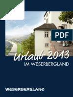 Weserbergland Reiseführer, empfohlen von Reiseführer-Buchhandlung Reise.BuchOn